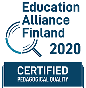 Logo Education Alliance Finland Certified 2020